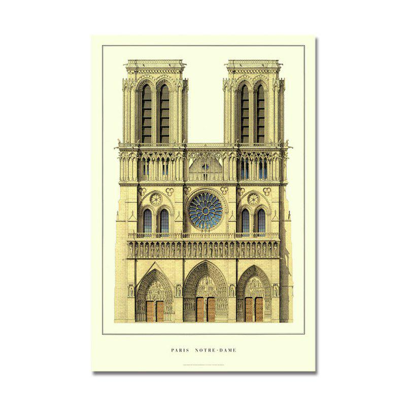 Building Castle Europe Print Art - multicolor
