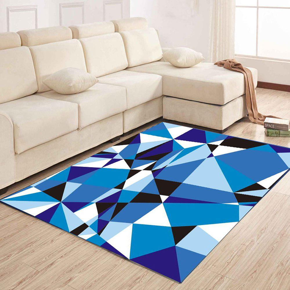 Living Room Mat Simple Modern Nordic Geometric Coffee Table Rug - BLUE RIBBON 160X230CM
