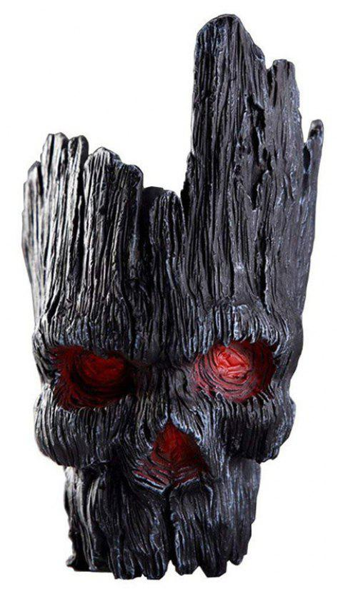 Tree Man Flower Pot Doll Model Toy - MIRROR BLACK