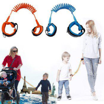 Baby Safety Harness Child Leash Anti Lost Wrist Link Toddler Kids - CRYSTAL BLUE