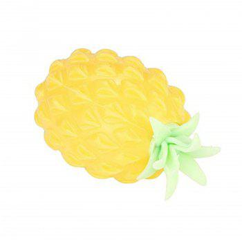 Jumbo Squishy Cute Pineapple Creamy Scent for Kids Pressure Stress Relief Toy - YELLOW