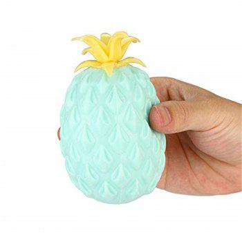 Jumbo Squishy Cute Pineapple Creamy Scent for Kids Pressure Stress Relief Toy - LIGHT SLATE