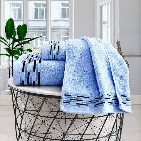 Comfortable Bath Towel For Household Use - DAY SKY BLUE 70CM*140CM