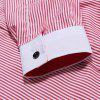 Men's Casual Slim Striped Shirt - multicolor C 3XL