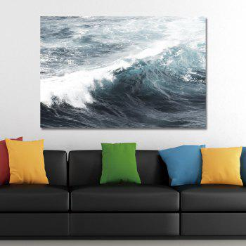 Great Waves in Sea Water Print Art - multicolor