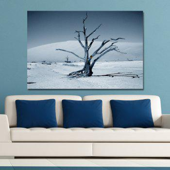 Branches in the Desert Print Art - multicolor