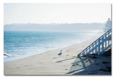 Photography Seaside Beach Scenery Print Art - multicolor