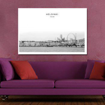 Photography Seaside Fashion Architecture Print Art - multicolor