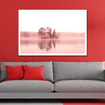 Photography Water Grove Print Art - multicolor