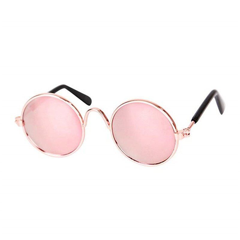 Fashion Glasses Small Pet Dogs Cat Glasses Sunglasses Eye-Wear Protection - PINK