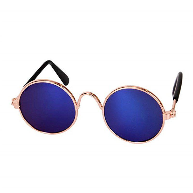 Fashion Glasses Small Pet Dogs Cat Glasses Sunglasses Eye-Wear Protection - SAPPHIRE BLUE