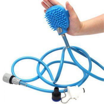 Pet Convenient Bathing Tool Comfortable Massager Shower Head Cleaning Washing - DAY SKY BLUE