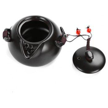 Chinese Traditional Culture Ceramic Tea Set Suit - CRYSTAL CREAM