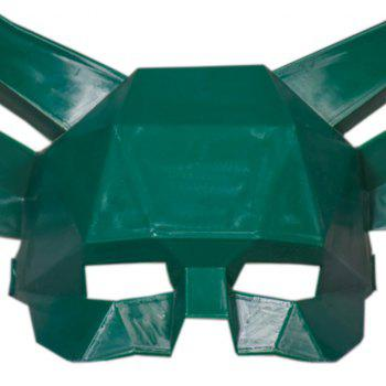 Antler Mask Halloween Whole Person Toy - DARK FOREST GREEN