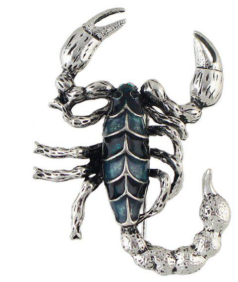 Fashion Colorful Enamel Scorpion Brooch for Women - multicolor D