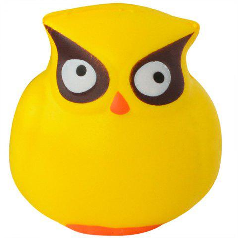 Owl Cream Scented Cute Squishy Toys Stress Reliever Squeeze Slow - GOLD