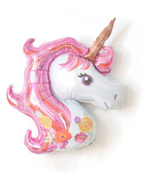 YEDUO Unicorn Party  Birthday Wedding Engagement Children's Day Foil Balloons - PINK