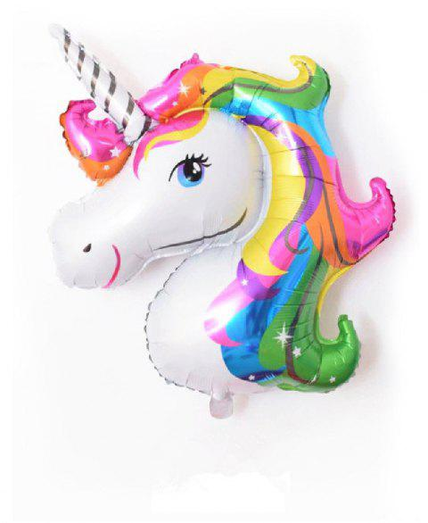 YEDUO Unicorn Party  Birthday Wedding Engagement Children's Day Foil Balloons - multicolor