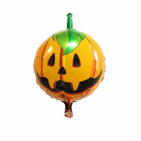 YEDUO Halloween Pumpkin Ghost Balloons Decorations Foil Toys Party Supplies - multicolor L