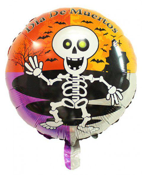YEDUO Halloween Pumpkin Ghost Balloons Decorations Foil Toys Party Supplies - multicolor Q