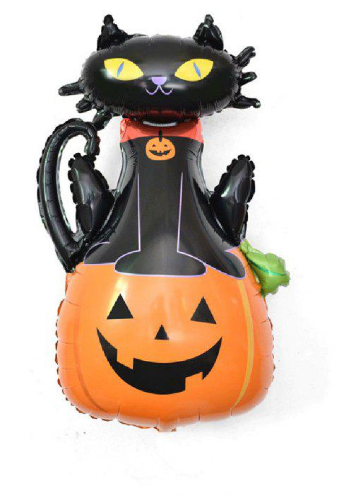 YEDUO Halloween Pumpkin Ghost Balloons Decorations Foil Toys Party Supplies - multicolor P