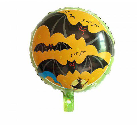 YEDUO Halloween Pumpkin Ghost Balloons Decorations Foil Toys Party Supplies - multicolor R