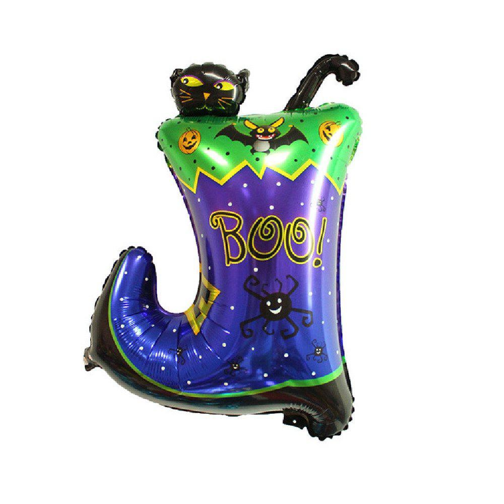 YEDUO Halloween Pumpkin Ghost Balloons Decorations Foil Toys Party Supplies - multicolor T