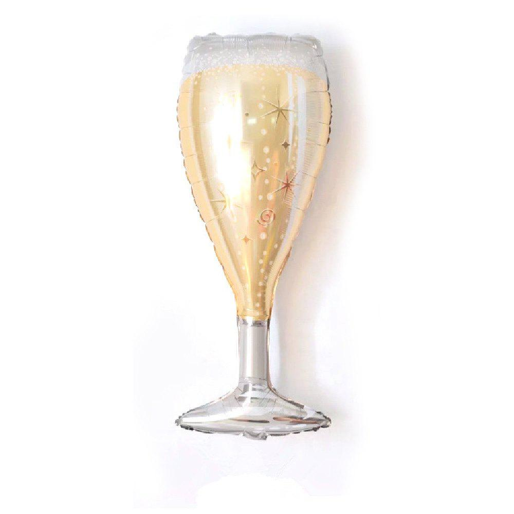 2018 Yeduo Champagne Wine Bottle Cup Foil Balloons Birthday Wedding
