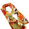 Multicolor Print Chiffon Fashion Women Scarf - multicolor C