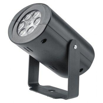 Automatic Map LED Projection Lamp for Halloween Decoration - BLACK EU