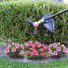 Orbitrim Head Gas Trimmer Iron Steel Solid Lawn Care Tool Home Garden - BLACK