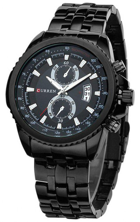 Curren 8082 Brand Luxury Business Casual Quartz Men Watch - multicolor D