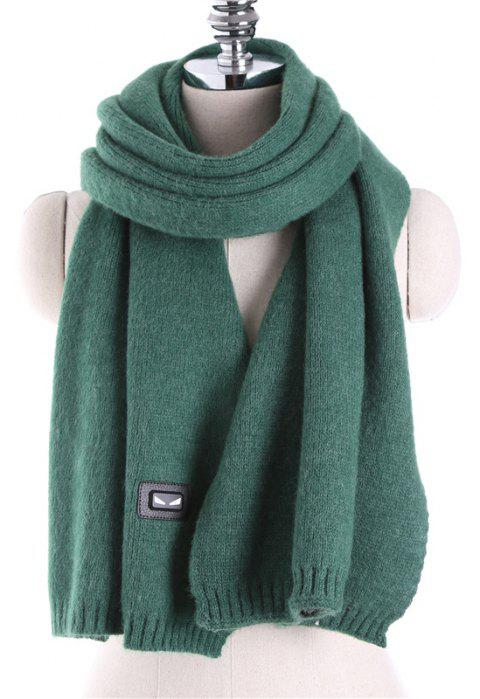 Autumn and Winter Fashion Small Monster Cashmere Scarf Shawl - MEDIUM SEA GREEN