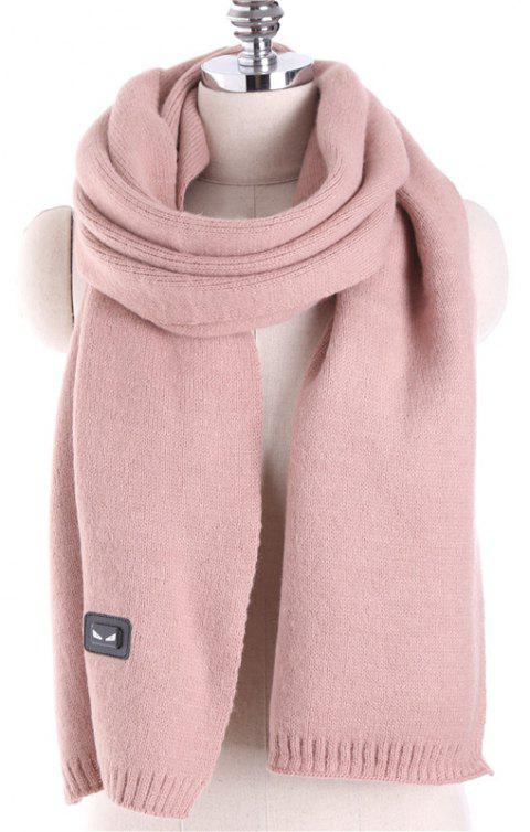 Autumn and Winter Fashion Small Monster Cashmere Scarf Shawl - PINK