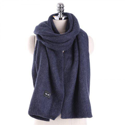Autumn and Winter Fashion Small Monster Cashmere Scarf Shawl - CELESTE