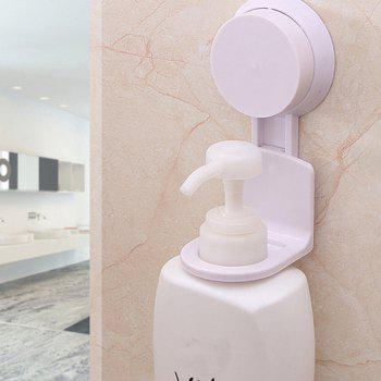 Strong Seamless Suction Cup Shower Gel Hanger - WHITE