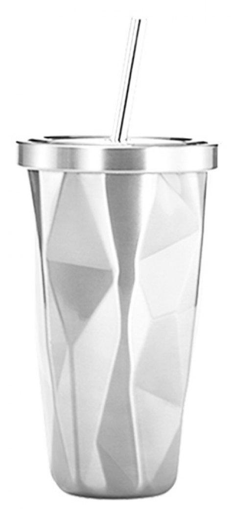Double Stainless Steel Sippy Cup - multicolor D