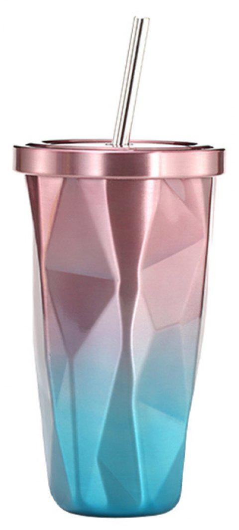 Double Stainless Steel Sippy Cup - multicolor C