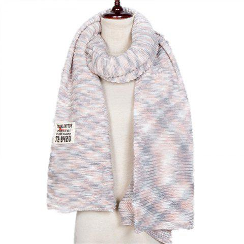 Autumn and Winter The New Colors Knitting Wool Imitation of Cashmere Scarf - multicolor B