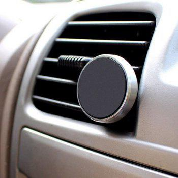 Universal Air Vent Magnetic Car Mount Phone Holder - SILVER 3.4*3.4*3.14CM