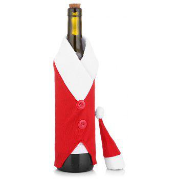 Christmas Red Wine Bottle Bag Cover Bag - RED