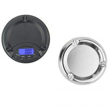 500g x 0.1g LCD Digital Jewelry Scale for Gold Sterling Silver - BLACK