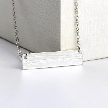 Concise Fashion Hand Wolf Exquisite Clavicle Chain - WHITE 4.5*1.2*0.1CM