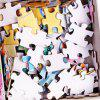 3D Jigsaw Paper Forest Owl Puzzle Block Assembly Birthday Toy - multicolor