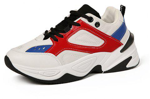 Chaussures Casual Respirant Automne Femme - Rouge EU 35