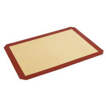 1Pcs Non-Stick Silicone Baking Mat - CHERRY RED