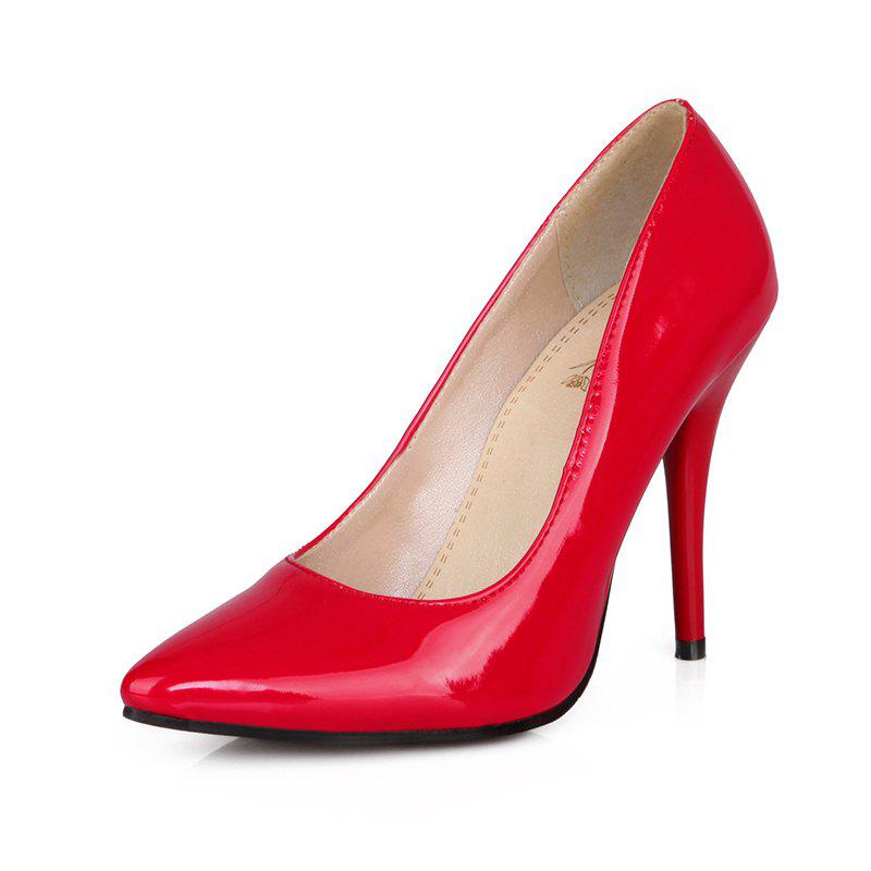 Sexy Womens Shoes with High Heels Pointy Wedding Reception