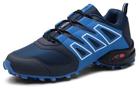 Men's Non-Slip Outdoor Hiking Shoes - BLUE EU 46