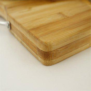 New Thick Antibacterial Chopping Natural Bamboo Board Kitchen Cutting Board - CINNAMON