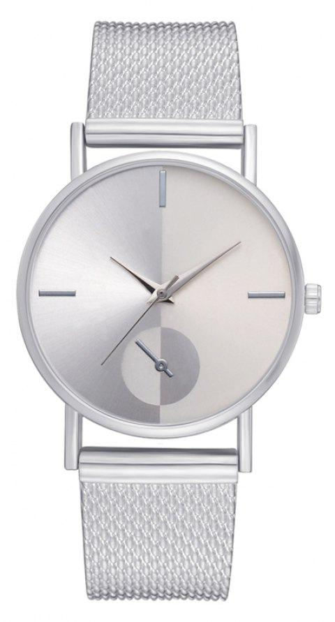 XR2924 Ladies Simple Casual Mesh Alloy Watch - SILVER